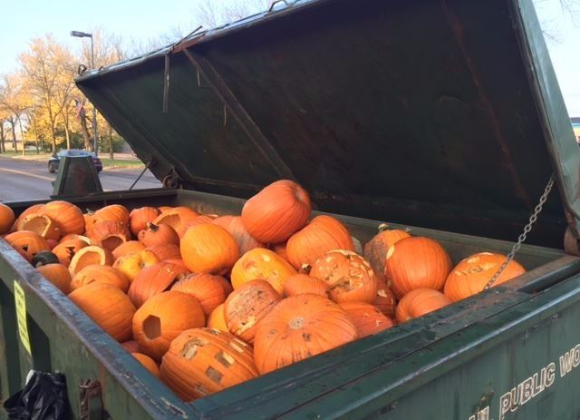 Recycling Pumpkins