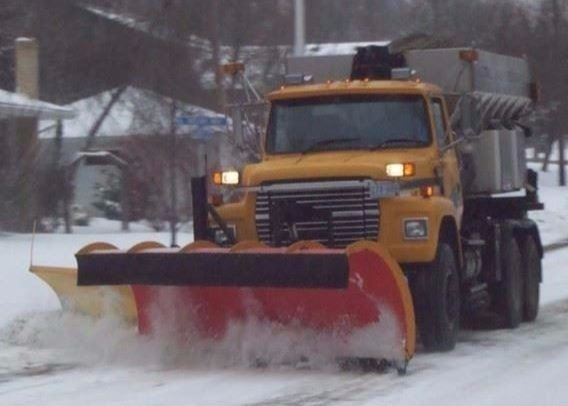 Winter Plowing