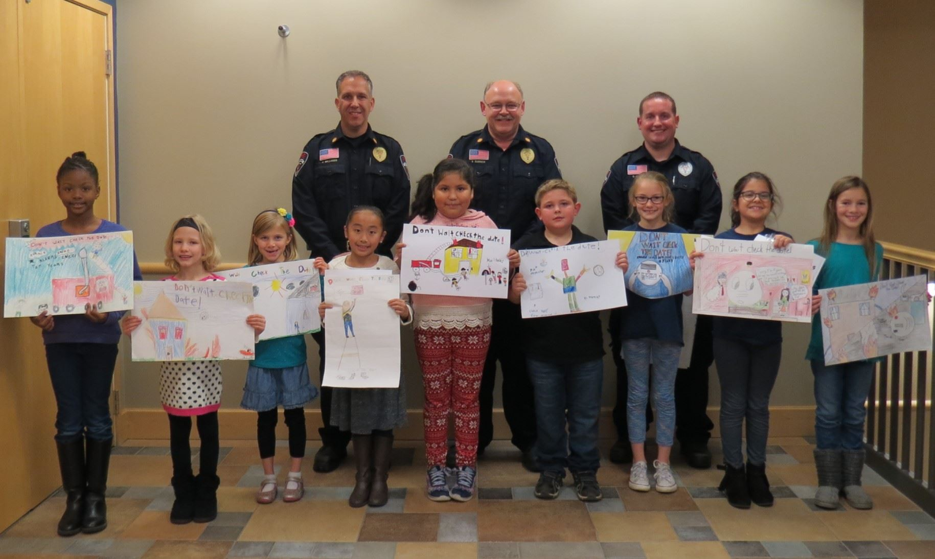 Fire Prevention Poster Contest 2016