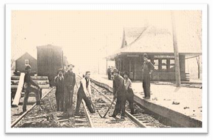 Original Railroad Depot - 1906